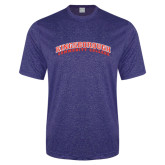 Performance Royal Heather Contender Tee-Arched Kingsborough