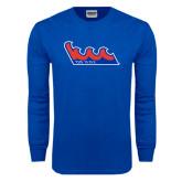 Royal Long Sleeve T Shirt-The Wave