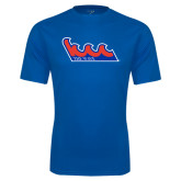 Community College Performance Royal Tee-The Wave