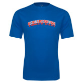 Community College Performance Royal Tee-Arched Kingsborough