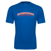 Community College Performance Royal Tee-Basketball