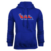 Community College Royal Fleece Hoodie-The Wave