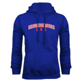 Community College Royal Fleece Hoodie-Dad