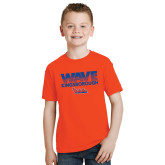 Youth Orange T Shirt-Wave