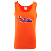Orange Tank Top-The Wave