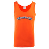 Orange Tank Top-Arched Kingsborough