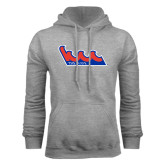Community College Grey Fleece Hoodie-The Wave