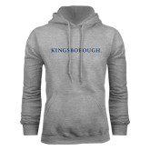 Community College Grey Fleece Hoodie-Kingsborough
