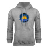 Community College Grey Fleece Hoodie-LightHouse