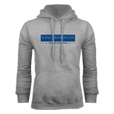 Community College Grey Fleece Hoodie-Kingsborough Dreams