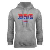 Community College Grey Fleece Hoodie-Wave