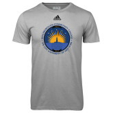 Community College Adidas Climalite Sport Grey Ultimate Performance Tee-LightHouse