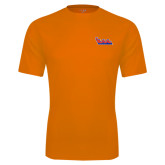 Performance Orange Tee-The Wave