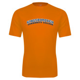 Performance Orange Tee-Arched Kingsborough