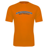 Performance Orange Tee-Softball