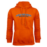 Community College Orange Fleece Hoodie-Grandpa