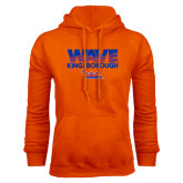 Community College Orange Fleece Hoodie-Wave