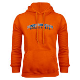 Community College Orange Fleece Hoodie-Volleyball