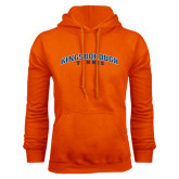 Community College Orange Fleece Hoodie-Tennis