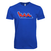 Next Level SoftStyle Royal T Shirt-The Wave