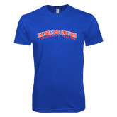 Next Level SoftStyle Royal T Shirt-Arched Kingsborough