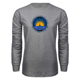 Grey Long Sleeve T Shirt-LightHouse