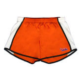 Ladies Orange/White Team Short-The Wave