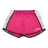 Ladies Fuchsia/White Team Short-Arched Kingsborough
