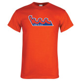 Orange T Shirt-The Wave