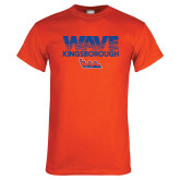 Orange T Shirt-Wave