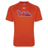 Under Armour Orange Tech Tee-The Wave