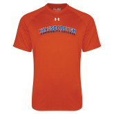 Under Armour Orange Tech Tee-Arched Kingsborough