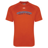 Under Armour Orange Tech Tee-Track and Field