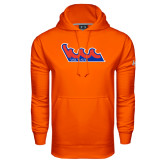 Community College Under Armour Orange Performance Sweats Team Hoodie-The Wave