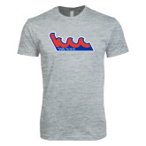 Next Level SoftStyle Heather Grey T Shirt-The Wave