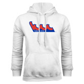 Community College White Fleece Hoodie-The Wave