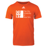 Adidas Orange Logo T Shirt-The Wave