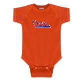 Community College Orange Infant Onesie-The Wave