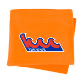 Community College Orange Sweatshirt Blanket-The Wave