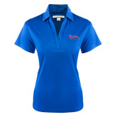 Community College Ladies Royal Performance Fine Jacquard Polo-The Wave