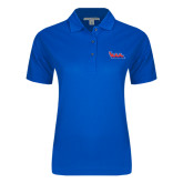 Community College Ladies Easycare Royal Pique Polo-The Wave