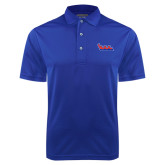 Community College Royal Dry Mesh Polo-The Wave