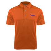 Community College Orange Dry Mesh Polo-The Wave