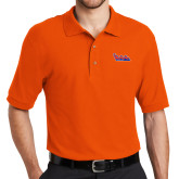 Community College Orange Easycare Pique Polo-The Wave