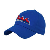 Community College Royal Heavyweight Twill Pro Style Hat-The Wave