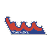 Medium Magnet-The Wave, 8in wide