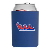 Community College Neoprene Royal Can Holder-The Wave