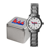 Community College Ladies Stainless Steel Fashion Watch-The Wave