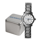 Community College Ladies Stainless Steel Fashion Watch-Arched Kingsborough