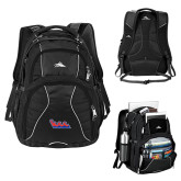 Community College High Sierra Swerve Black Compu Backpack-The Wave